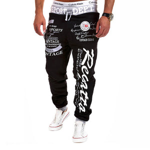 SWAGWHAT Men Pants Hip Hop Joggers Pants 2019 New Male Trousers Men Letters Printed Casual Pants Sweatpants Man Dancing wear