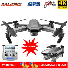 Load image into Gallery viewer, SG907 Professional Drone 4K Selfie HD Dual Camera GPS Follow Wide-Angle Anti-shake 5G WIFI FPV RC Quadcopter Foldable 50X Zoom