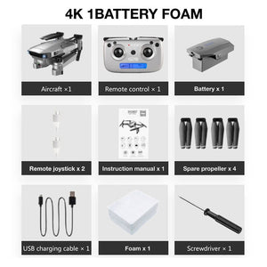 SG907 Professional Drone 4K Selfie HD Dual Camera GPS Follow Wide-Angle Anti-shake 5G WIFI FPV RC Quadcopter Foldable 50X Zoom