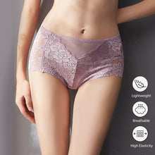 Load image into Gallery viewer, Plus Size Lace Panties M-XXL Women High Waist Briefs Sexy Lingerie Lace Brief  Girls Sexy Panties Knicker 2020 Female Underwear