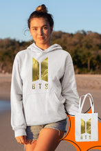 Load image into Gallery viewer, Angemiel Wear BTS Korean White Women 'S Hooded Sweatshirt Bags Kombin