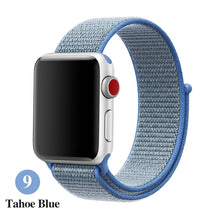 Load image into Gallery viewer, Sports strap for apple band 42mm with iwatch 38mm 44mm 40mm correas Apple Watch 5 4 3 bracelet bracelet nylon 2/1