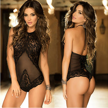 Load image into Gallery viewer, Sexy Women Underwear Hot Erotic Costumes Intimate Porno Nightshirt Temptation Female Lingerie Babydoll Lace Backless Costume