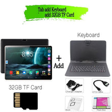 Load image into Gallery viewer, New Original 10 inch Tablet Pc Android 7.0 Google Market 3G Phone Call Dual SIM Cards CE Brand WiFi GPS Bluetooth 10.1 Tablets