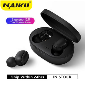 A6S TWS Bluetooth Earphone VS Redmi Airdots Wireless Headphone Stereo Headset Mini Earbuds for Xiaomi iPhone Huawei Samsung