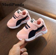 Load image into Gallery viewer, MudiPanda Autumn Toddler Baby Girls Boys Casual Sports Shoes For Kids Pu Leather Sneakers 1 2 3 5 6 7 Years Old New 2020