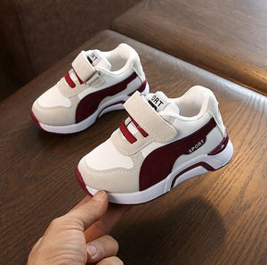 MudiPanda Autumn Toddler Baby Girls Boys Casual Sports Shoes For Kids Pu Leather Sneakers 1 2 3 5 6 7 Years Old New 2020