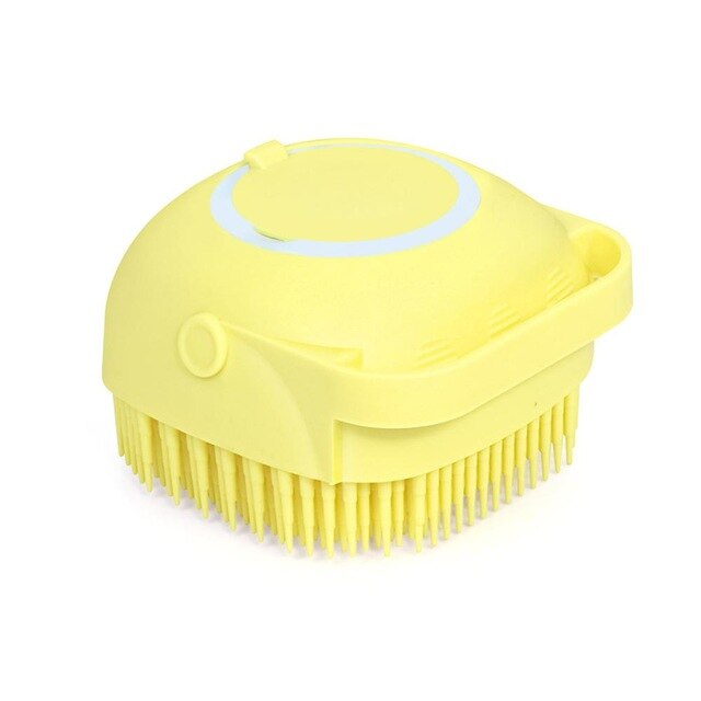 Silicone Head Massage Brush Body Shampoo Scalp Massage Brush Comb Hair Washing Comb Shower Foot Scrubber Brush Bathroom Supplies