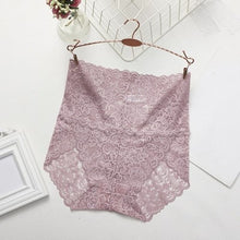 Load image into Gallery viewer, Jeseca Hot Ladies Underwear Woman Panties High Waist Transparent Cotton Breathable Sexy Lingerie Female Fashion Lace Cute Briefs