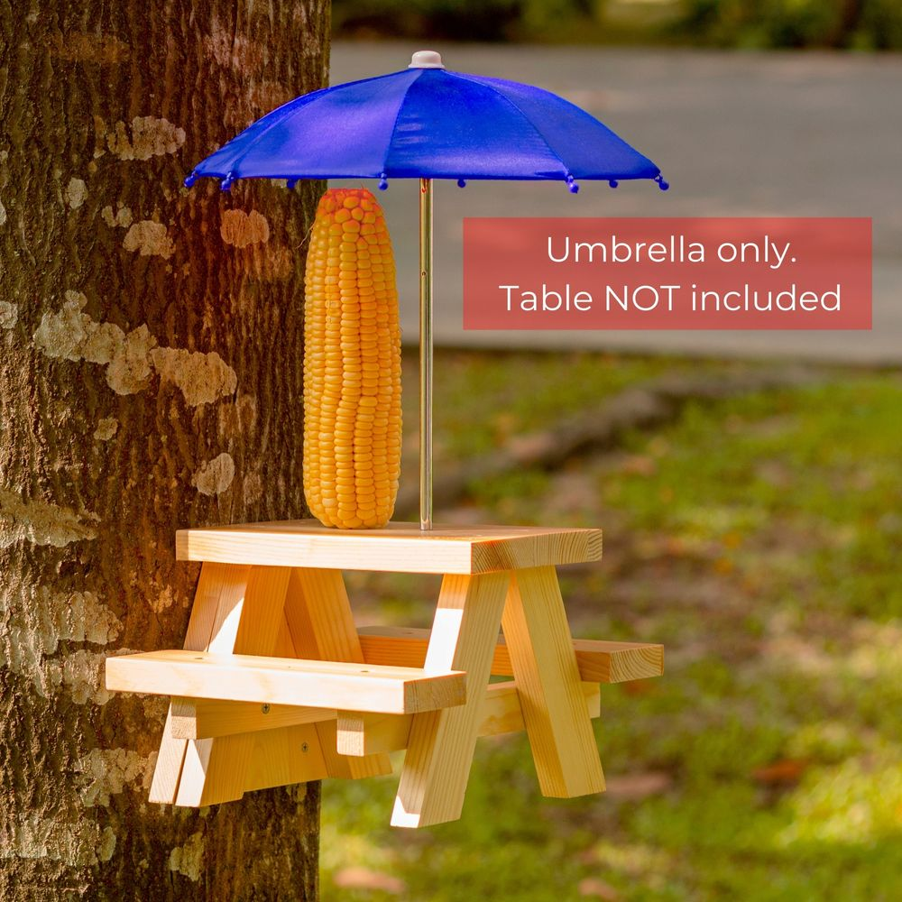 Squifty Premium Squirrel Feeder Picnic Table