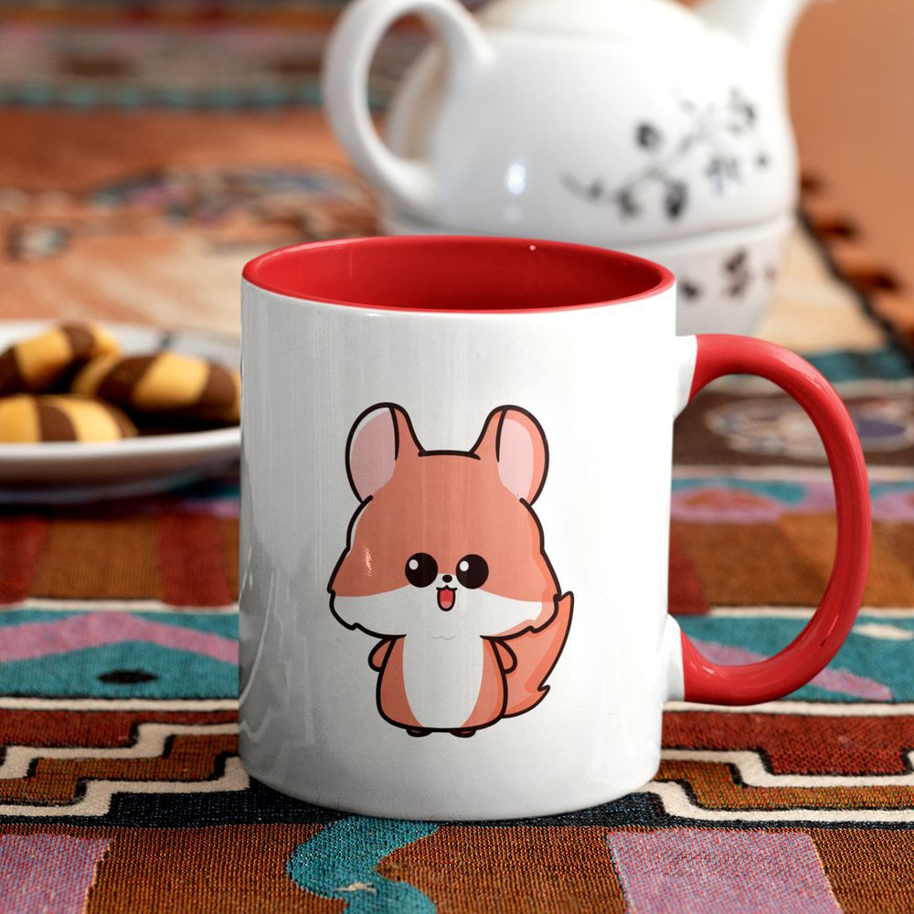 Squifty Chibi Squirrel Mug