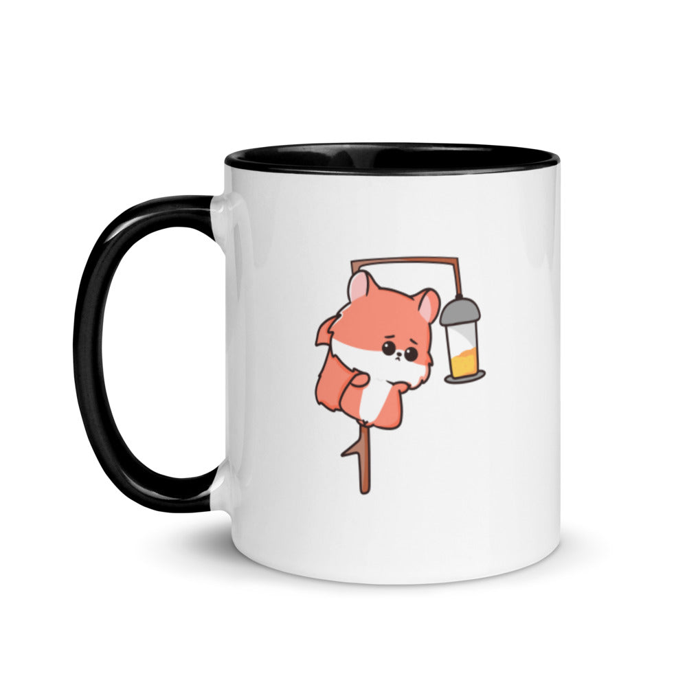 Squifty Chibi Squirrel Dining Mug