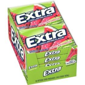Extra Sweet Watermelon Gum Bulk