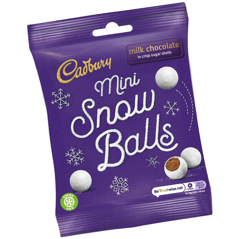 Cadbury Mini Snowballs
