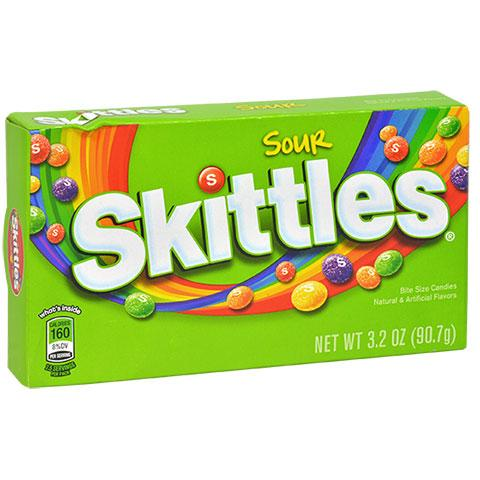 Sour Skittles Theater Box