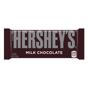 Hersheys Milk Chocolate Bar