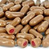 Chocolate Raspberry Bullets 100g