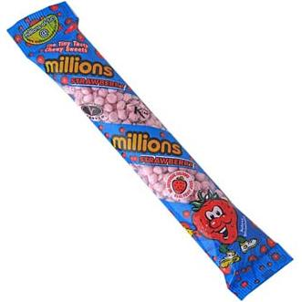 Millions Tube Strawberry
