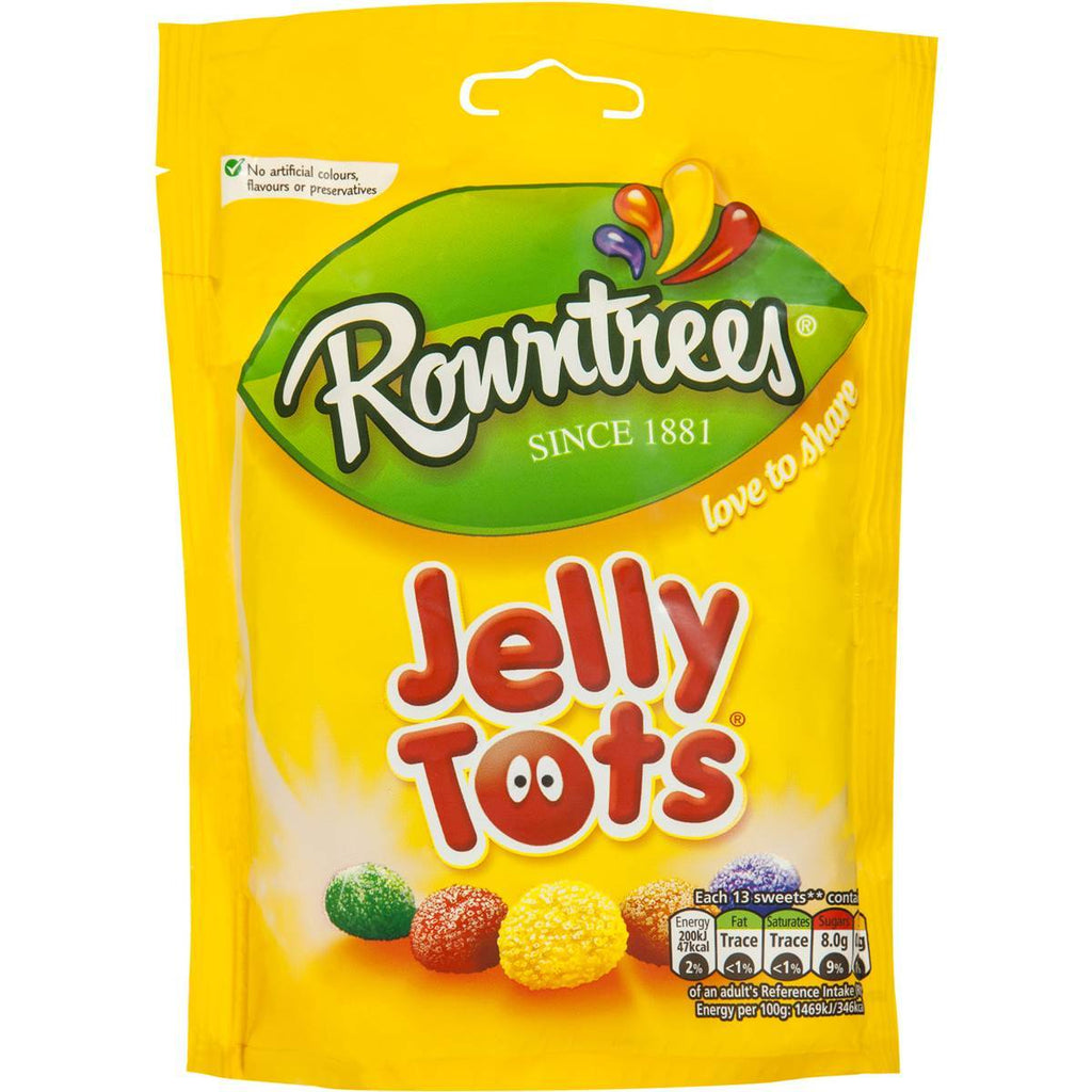 Rowntrees Jelly Tots Pouch 150g
