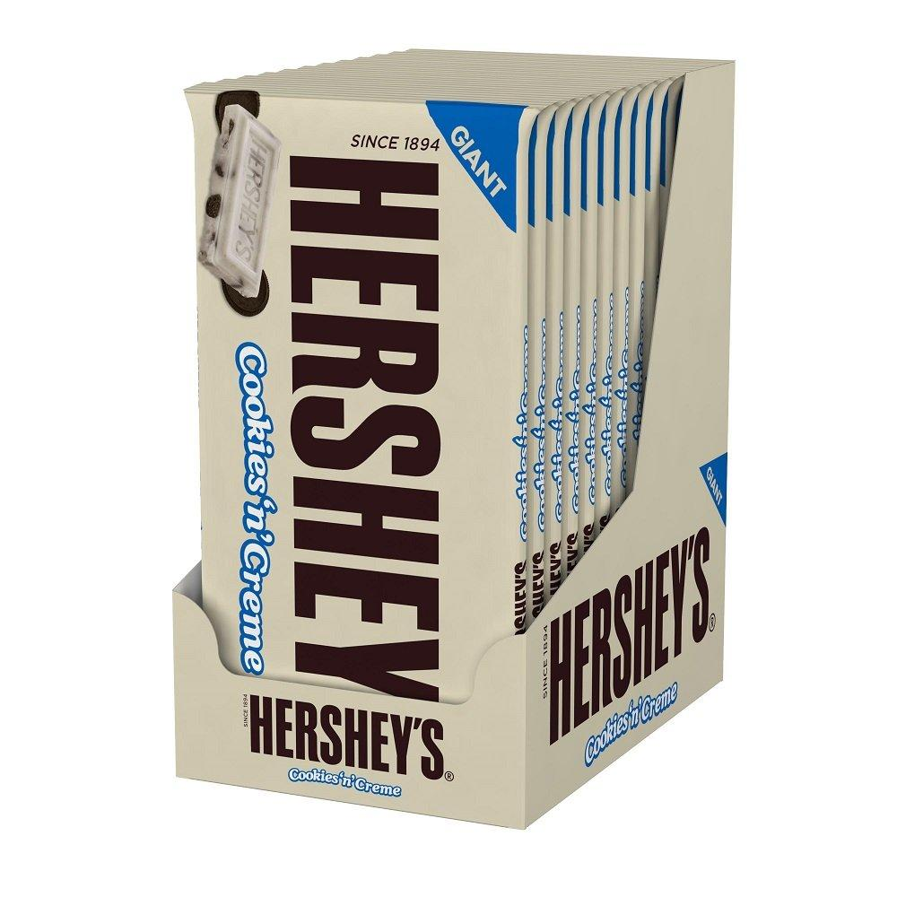 Hershey's Cookies & Cream Giant Bar Box