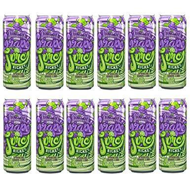 Arizona Rickey Grape Lime 24 Pack