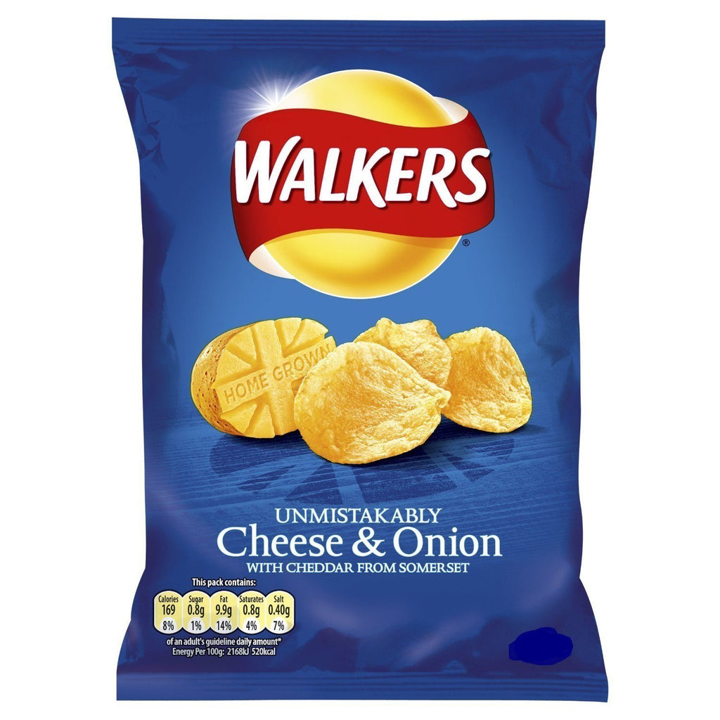 Walkers Cheese & Onion 22g