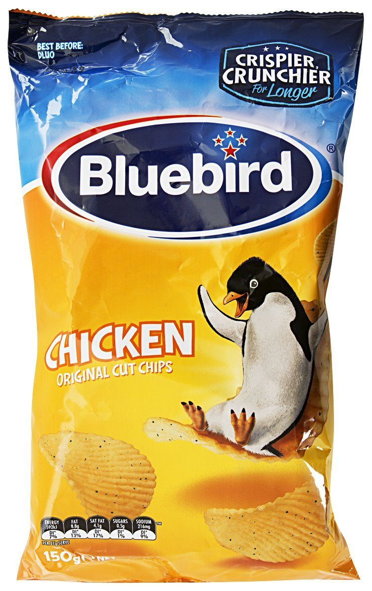 Bluebirds Chicken Chips Bulk