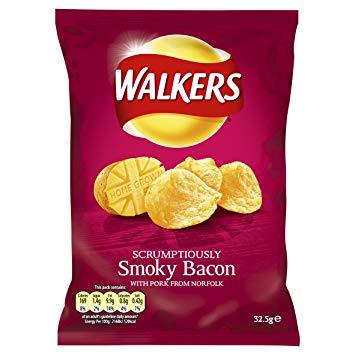 Walkers Smoky Bacon Bulk