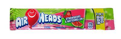 Airheads Big Bar Strawberry Watermelon Bulk
