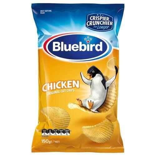 Bluebirds Chicken Chips Bag
