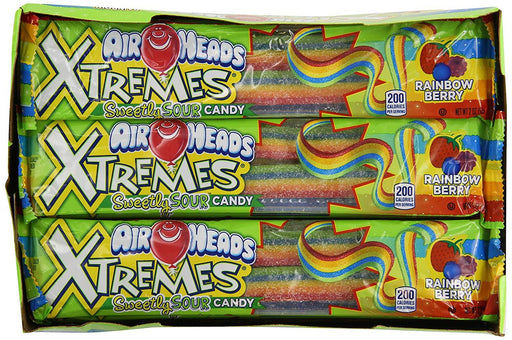 Airheads Xtremes Rainbow Berry Straps Bulk
