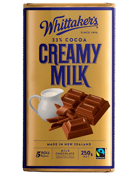 Whittakers Creamy Milk Block 250g