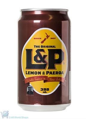 L&P Cans 24 Pack Carton