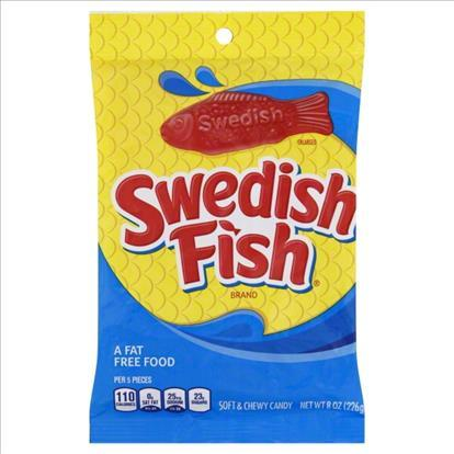 Swedish Fish Red 141g