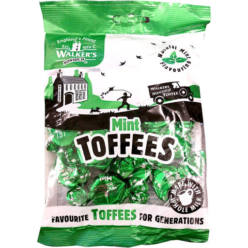 Walkers Mint Toffees Hangsell 150g