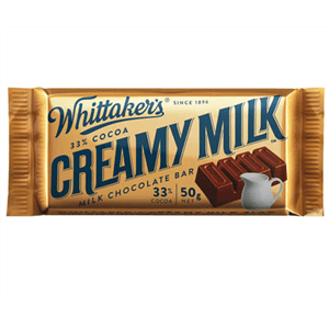 Whittakers Creamy Milk Slab