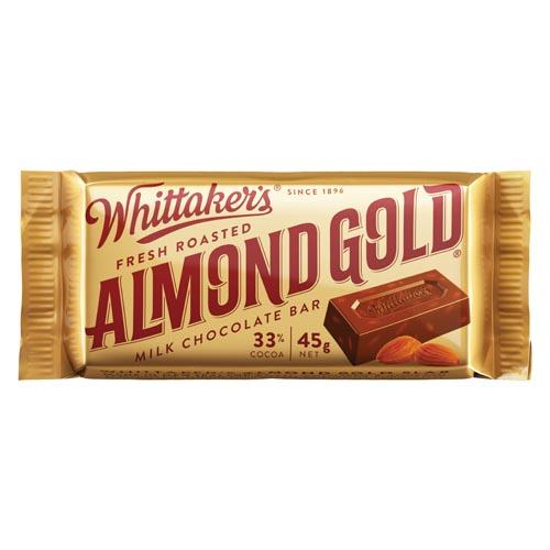 Whittaker's Almond Gold Slab
