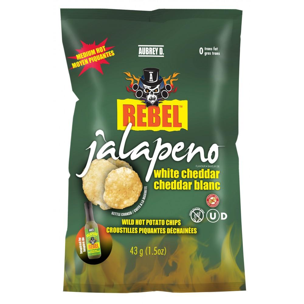 Rebel Jalapeno & White Cheddar 43g
