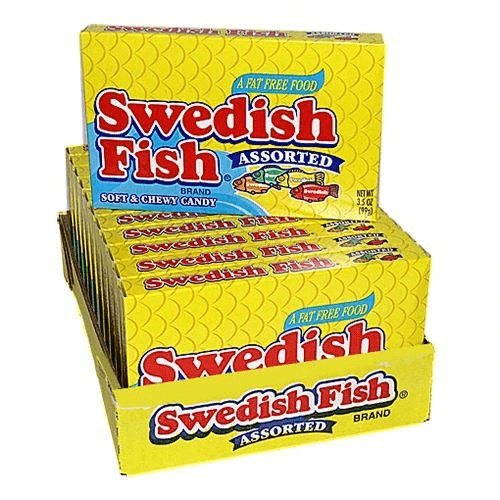 Swedish Fish Assorted Bulk
