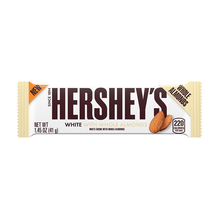 Hershey's White with Whole Almonds Bulk
