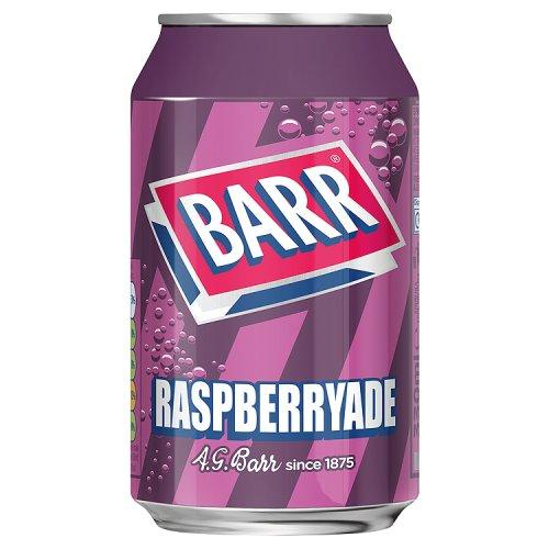 Barrs Raspberryade Can