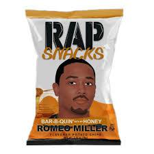 Rap Snack Romeo Miller Bar-B-Quin' with my Honey 28g