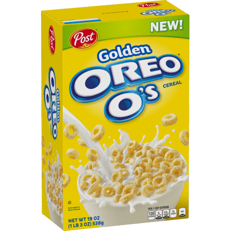 Golden Oreo O's Cereal