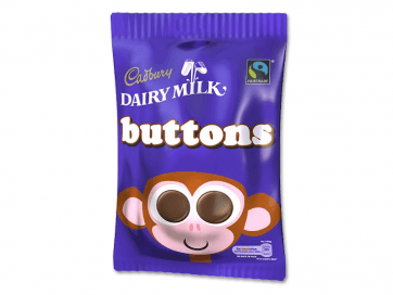 Cadbury Chocolate Buttons 30g
