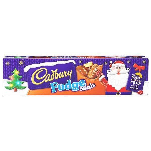Cadbury Fudge Bar Minis Tube 72g
