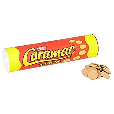 Caramac Buttons Tube 100g