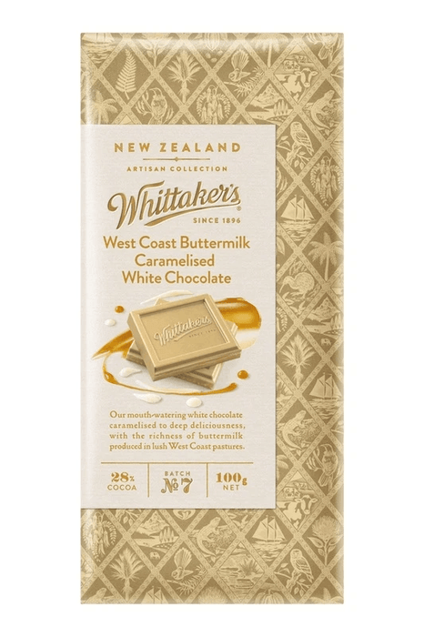 Whittaker's Buttermilk Caramelised White Chocolate Bulk