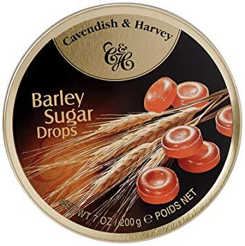 Cavendish & Harvey Barley Sugar Drops 200g Tin