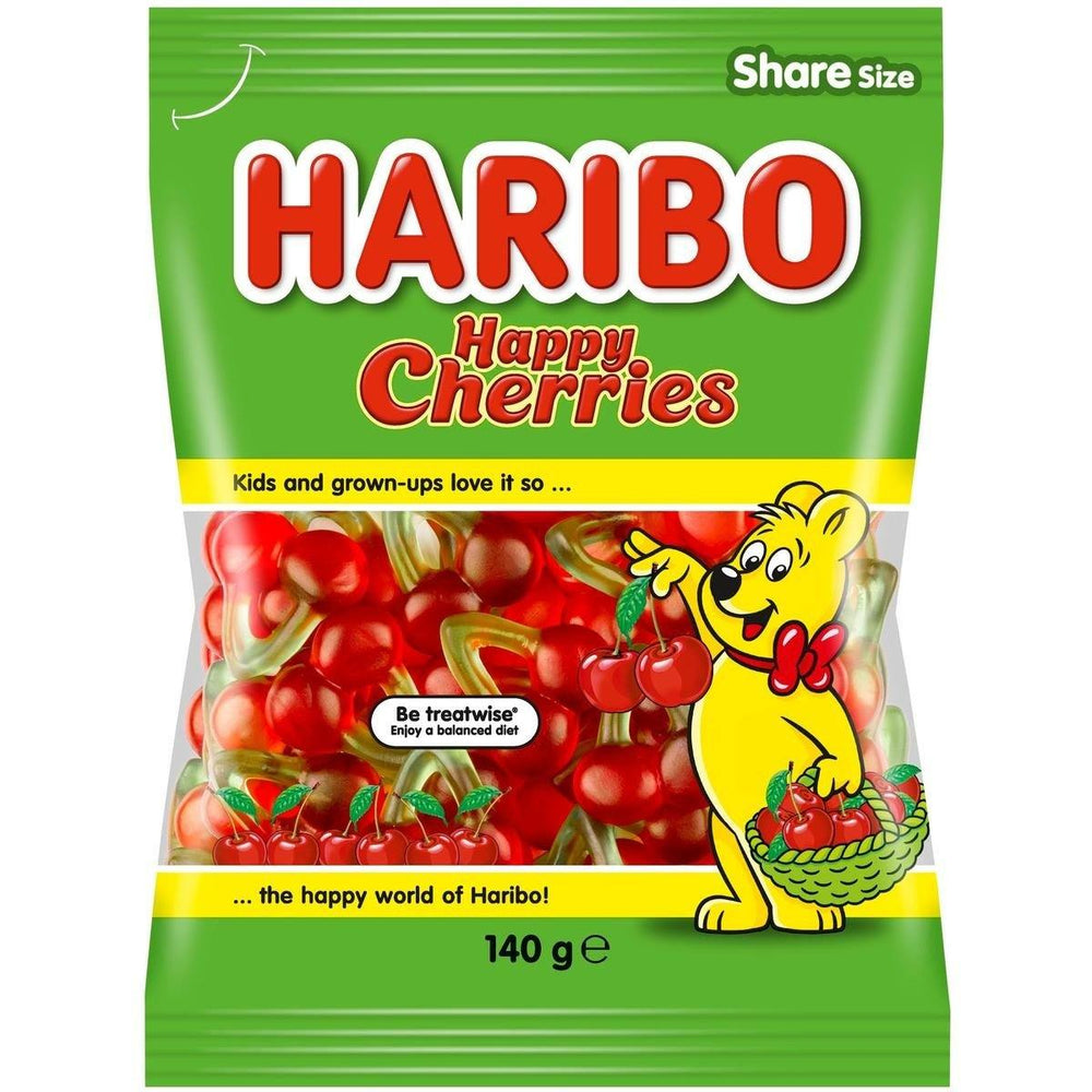 Haribo Happy Cherries 142g Bulk