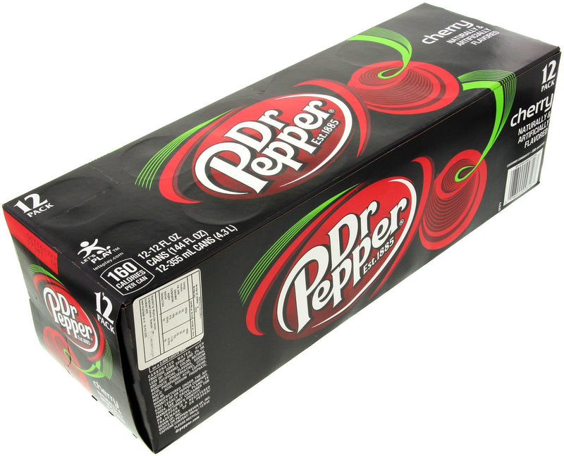 Dr Pepper Cherry 12 Pack Carton